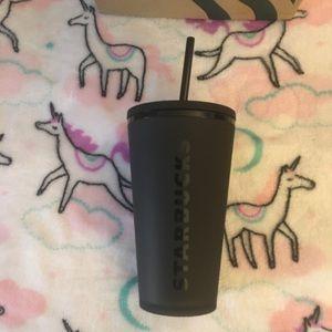 Starbucks Grande Black Matte cup
